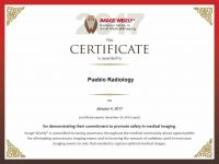 Image Wisely Certificate
